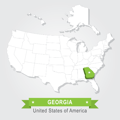 georgia lenders map coverage