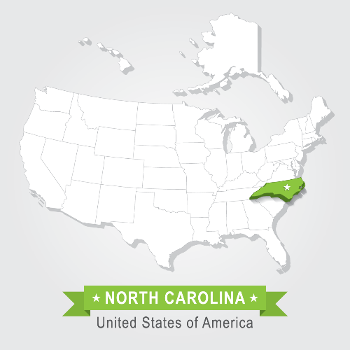 north carolina lenders map coverage