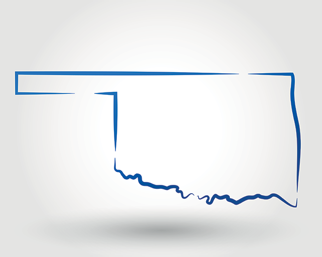 Oklahoma lenders map coverage