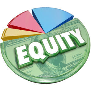 Equity pie chart requirement