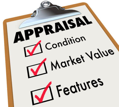 Appraisal Checklist Clipboard Factors Condition Market Value