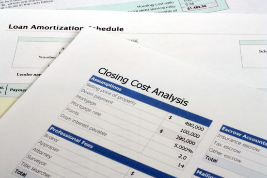 Mortgage Closing Cost Analysis