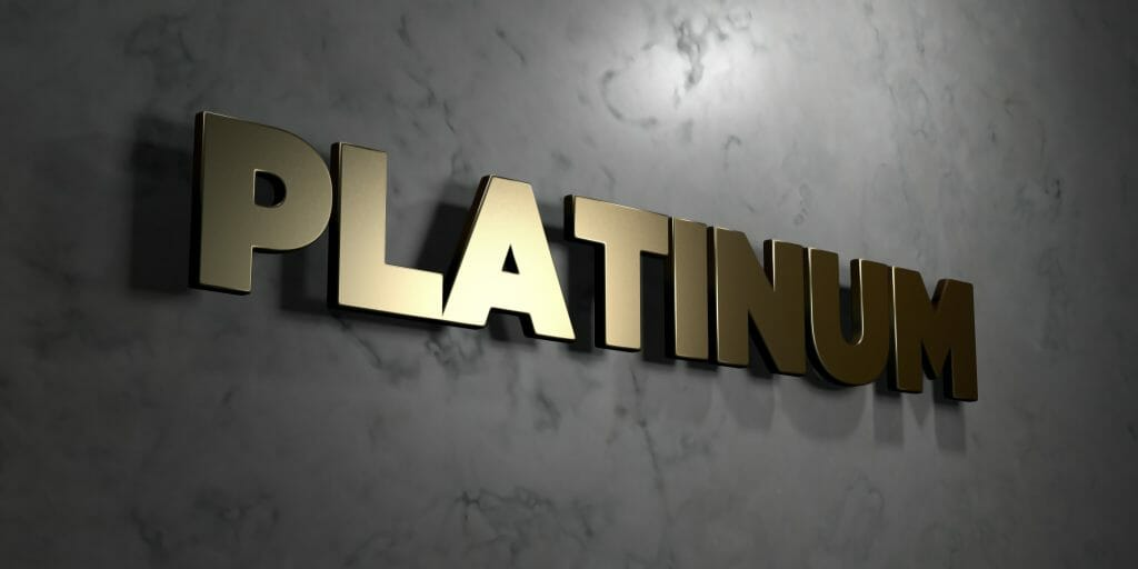 PLATINUM SIGN