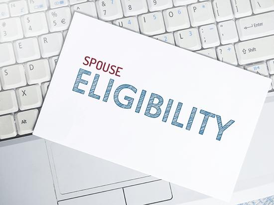 spouse eligibility