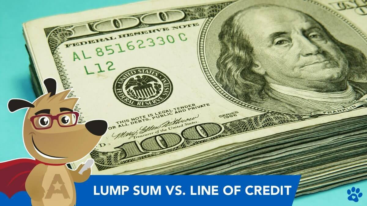 ARLO explains lump sum vs LOC