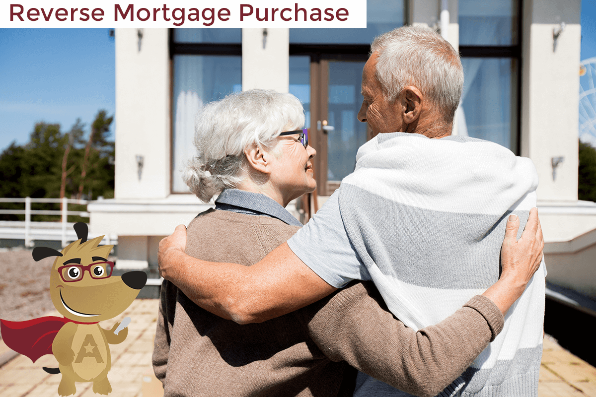 couple purchasing home with reverse mortgage
