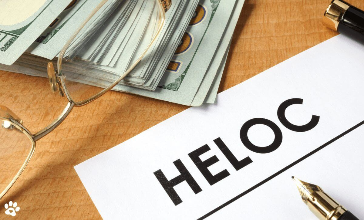 HELOC and dollars